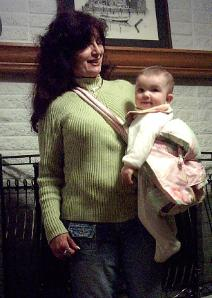 BABY SLING CHILD CARRIER!  FROM INFANT THROUGH 3 YEARS AND BEYOND